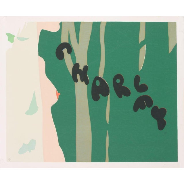 Unknown- Charley-SIGNED: Signed and numbered out of 12 serigraph by Unknown Pop Artist made in 1968.