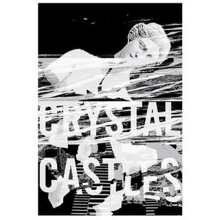 2017 Contemporary Music Poster - Crystal Castles For Sale