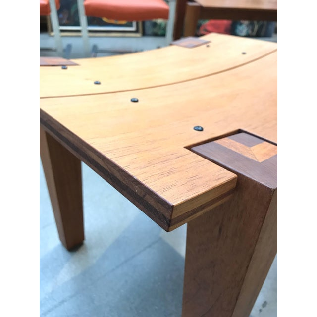 Early 21st Century Rob Edley Welborn Designed Prototype Bench or Stool For Sale - Image 5 of 9