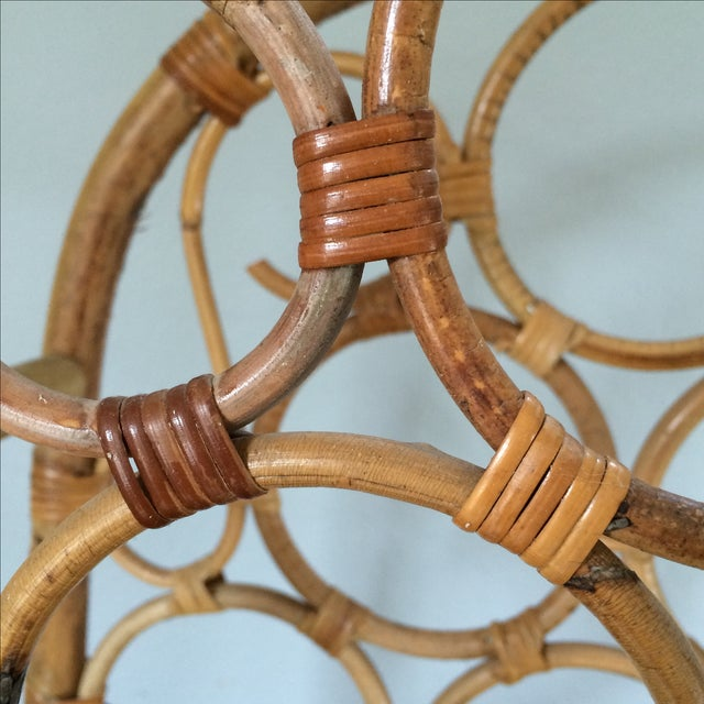 Vintage Bamboo Wine Rack - Image 6 of 11