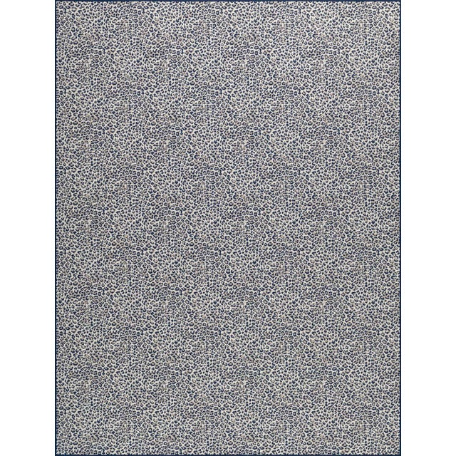 Contemporary Stark Studio Rugs, Wildlife, Cobalt, 9' X 12' For Sale - Image 3 of 8