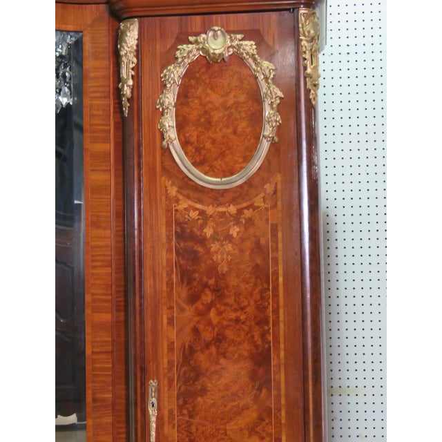 Regency Regency Style Inlaid Armoire For Sale - Image 3 of 13