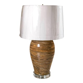 Apt French Modernist Pottery Lamps For Sale