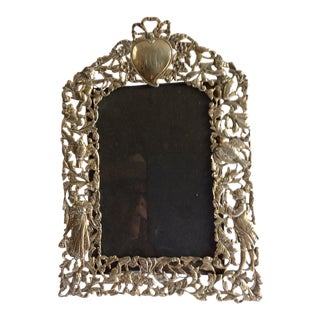 English Sterling Silver Frame For Sale