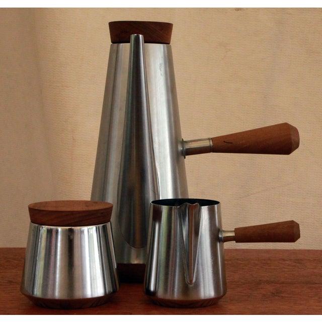 Italian Italian Mid-Century Modern Coffee Service For Sale - Image 3 of 6