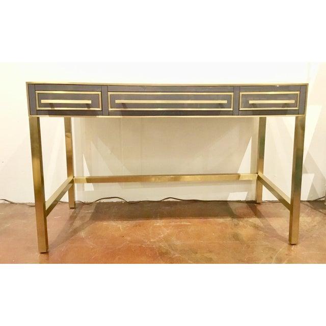 Metal Currey & Co. Arden Desk / Vanity For Sale - Image 7 of 7