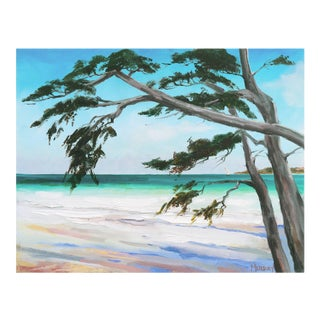 'Carmel Beach, Low Tide' by Kathleen Murray, California Woman Artist For Sale