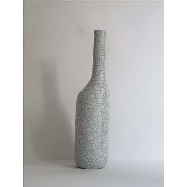 Asymmetrical Crackle Vase - Image 2 of 7