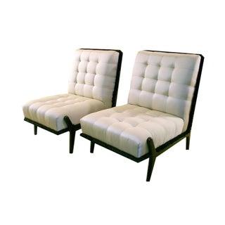 Italian Lounge Chairs, c. 1940s - A Pair