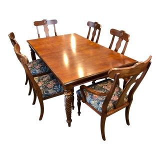 Ethan Allen British Classics Collection Dining Room Set For Sale