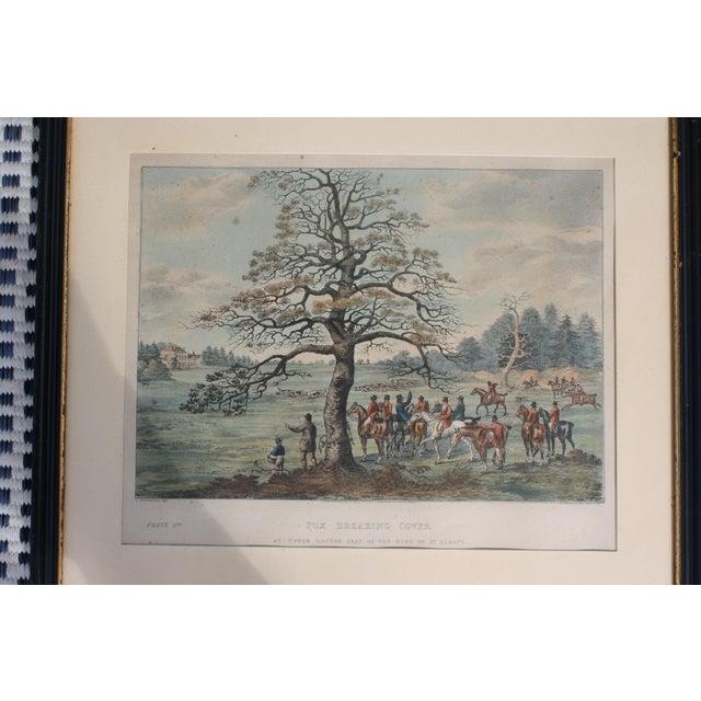 1824 Tinted Framed Engraving After Dean Wolstenholme Jr [British 1798-1882] For Sale - Image 4 of 7