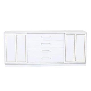Harvey Probber Bleached Wood Credenza Dresser