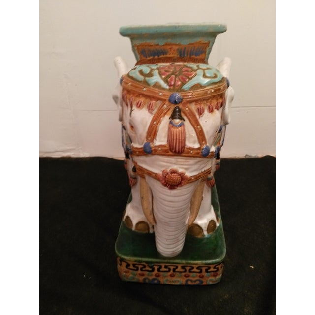 Elephant Decorative Plant Stand - Image 3 of 11