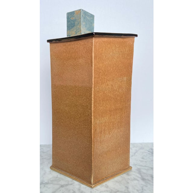 1990s Large Contemporary Architectural Ceramic Sculpture For Sale - Image 10 of 10