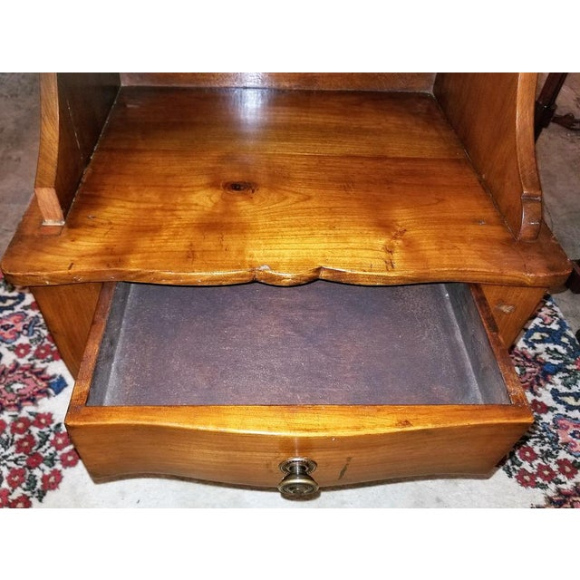 18th Century French Country Cherrywood Side Table or Open Case For Sale - Image 4 of 11