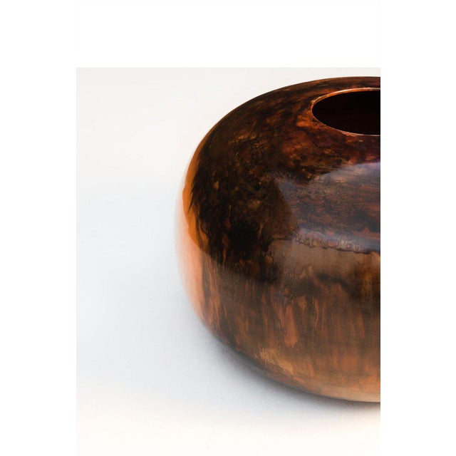 Edward Moulthrop Tulipwood Vessel For Sale In New York - Image 6 of 9