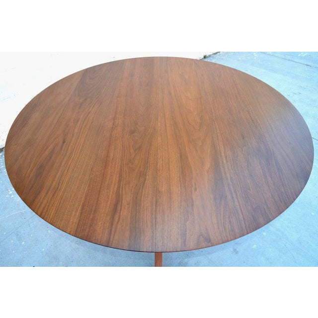 Mid-Century Modern 'Sputnik' Dining Table in Solid Walnut, Built to Order by Petersen Antiques For Sale - Image 3 of 11