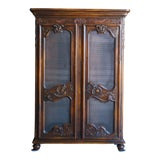 Image of 1990s French Provincial Style Cabinet For Sale