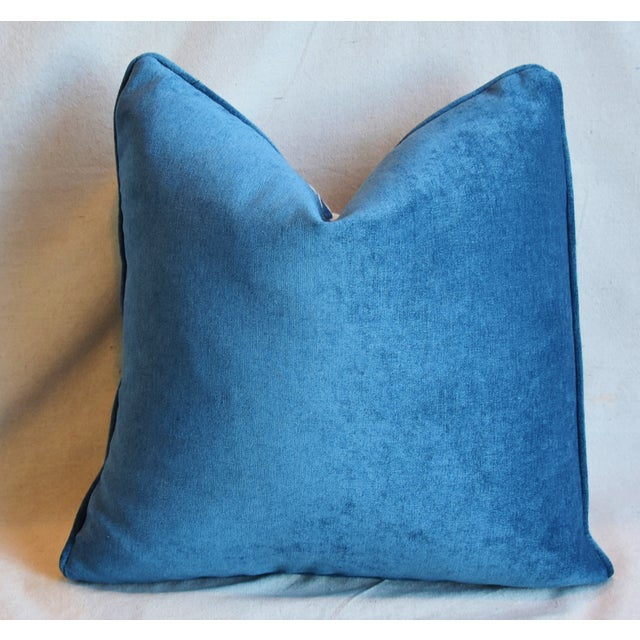 "Designer Groundworks Bunny Hutch Feather/Down Pillows 17"" Square - Pair For Sale - Image 10 of 13"