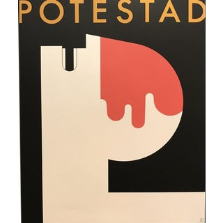 1980s Original Canadian Theatre Poster - Potestad (Tarragon Extraspace) For Sale