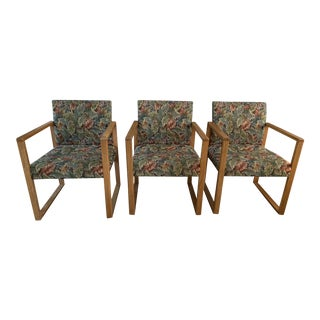 1980s Vintage Lounge Chairs - Set of 3 For Sale
