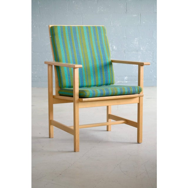 Very elegant armchair model 2257 designed by Børge Mogensen for Fredericia Stolefabrik, Denmark in the 1960s. Very modern...