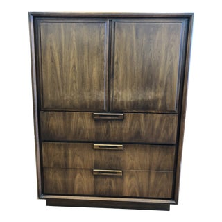 Mid-Century United Furniture Drawer Cabinet For Sale