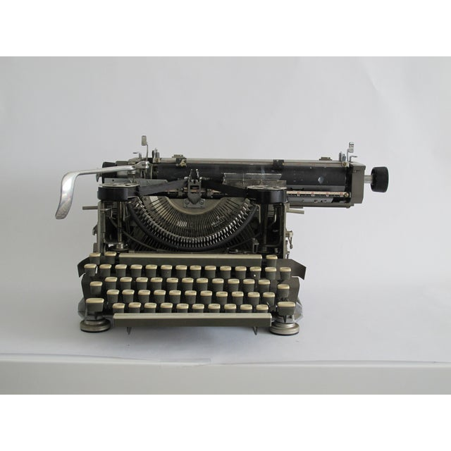 "Industrial 1920s ""Blind"" Writing Style Typewriter For Sale - Image 3 of 5"