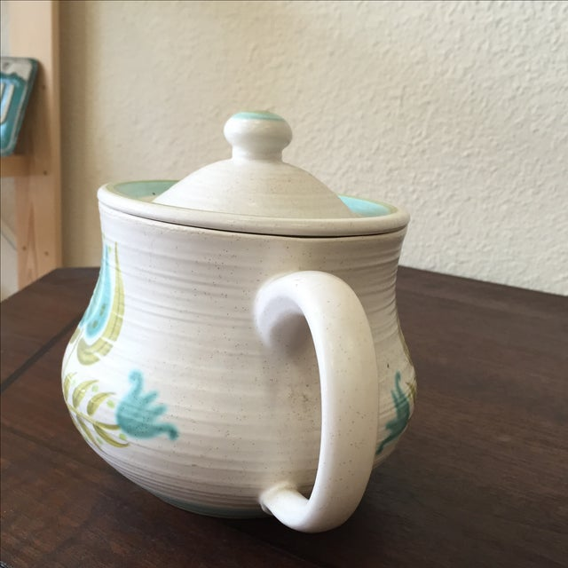 Franciscan Earthenware Mid-Century Floral Teapot - Image 7 of 8