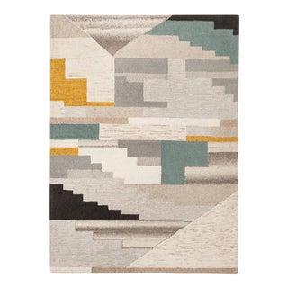 Abstract Boho Tufted Area Rug - 5' X 7'