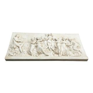 Modern Figural Fiberglass Wall Sculpture/Art For Sale
