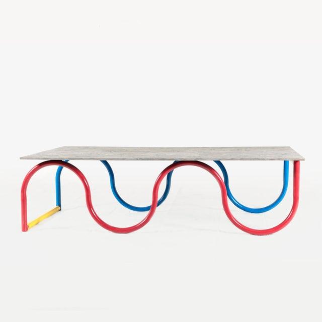 Contemporary Przemek Pyszczek, Squiggle Low Table, Ca, 2019 For Sale - Image 3 of 3
