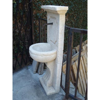 Small Carved French Wall Fountain From Provence Preview