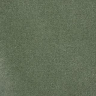 Schumacher Rocky Performance Velvet Fabric in Eucalyptus For Sale