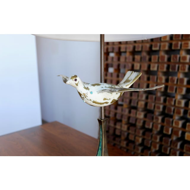 Brass Mid Century Pepe Mendoza Table Lamps - a Pair For Sale - Image 7 of 9