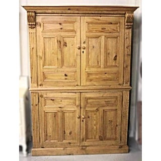 Antique Dutch Pine Armoire Preview