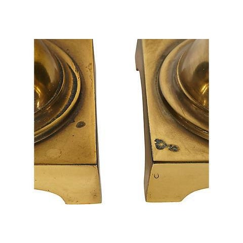 1960s Stiffel Brass Table Lamps - A Pair For Sale In Boston - Image 6 of 8