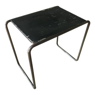 Marcel Breuer Tubular Chrome B9 Side Table 1930's for Mucke and Melder