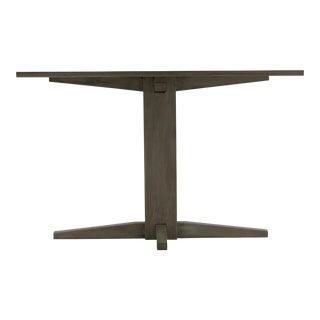 Modern Oak Breakfast Table For Sale