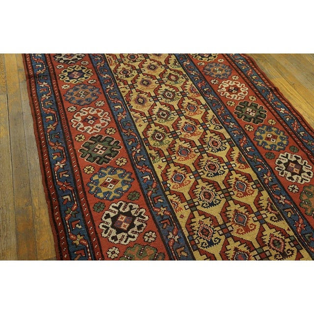 Late 19th Century Late 19th Century Antique Persian Rug For Sale - Image 5 of 7