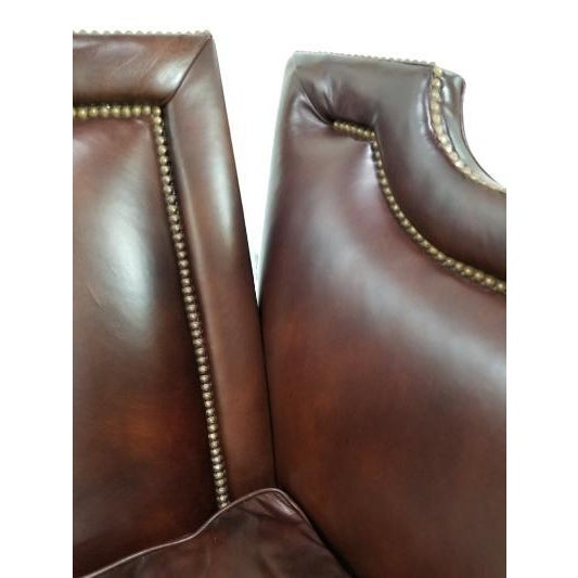 Leather Sofa by Ferguson Copeland For Sale - Image 9 of 13