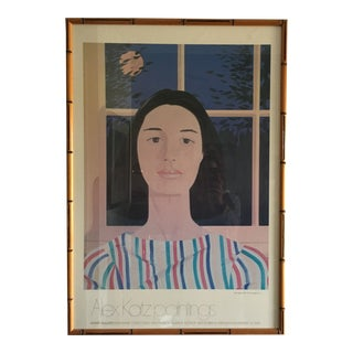 Alex Katz Gallery Exhibition Poster, Framed For Sale