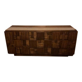 1950s Brutalist Paul Evans for Lane Furniture Mosaic Chest of Drawers