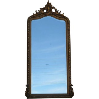 19th Century Gold Gilt Wall Mirror