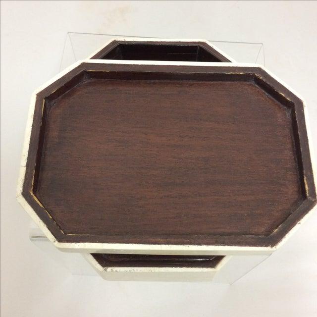 Maitland Smith Tessellated Marble & Malachite Box - Image 10 of 11