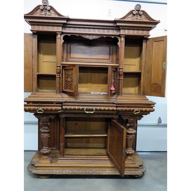 Renaissance Style Carved Cupboard For Sale - Image 4 of 8