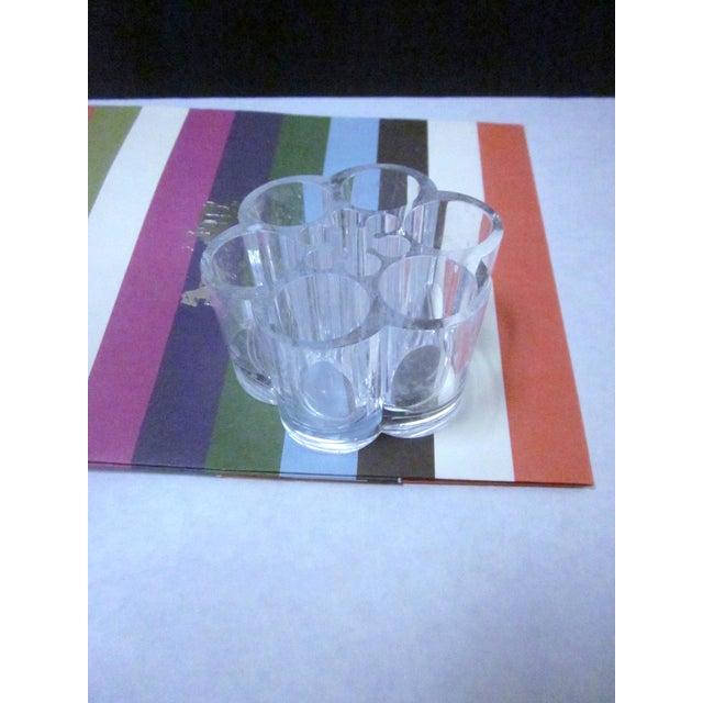 Lucite Modernist Cocktail Bar Tray Set - Image 10 of 11