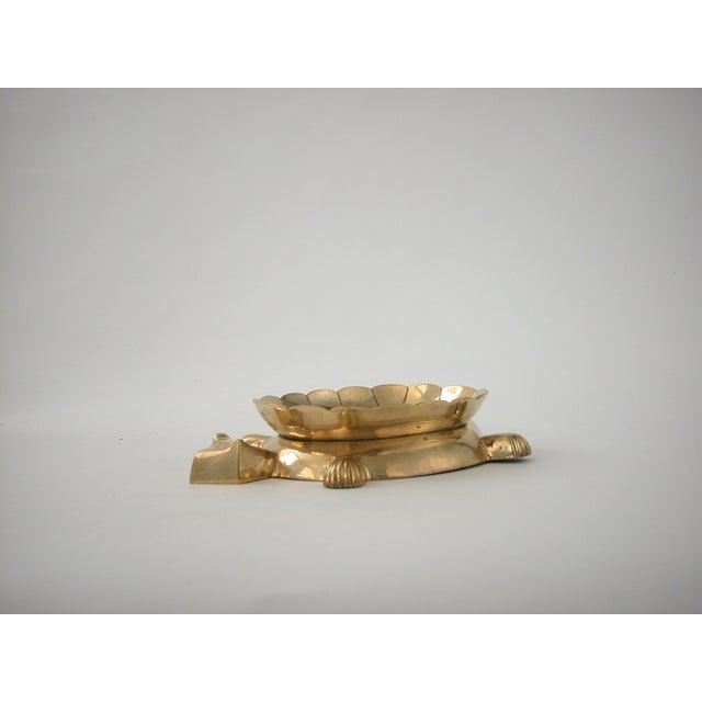Vintage Brass Turtle Bowl - Image 3 of 8