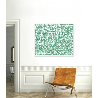 """Large """"haha Green One"""" Print by Kate Roebuck, 45"""" X 34"""" Preview"""