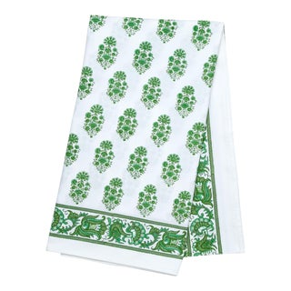 Riya Tablecloth, 6-seat table - Green